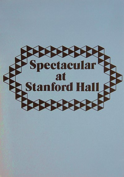 Spectacular at Stanford Hall cover