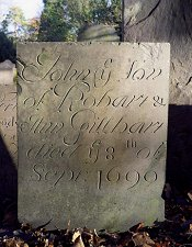 Swithland Slate headstone